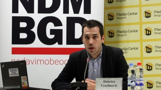 Novčana kazna Veselinoviću zbog protesta povodom smrti radnika na gradilištu 4