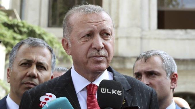 Erdogan bacio Trampovo pismo u đubre 1
