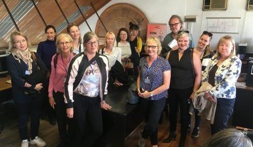Grupa finskih novinara posetila redakciju Danasa 13