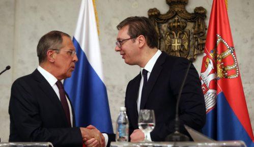 Vučić razgovarao sa Lavrovim: Rusija pouzdani saveznik Srbije 11