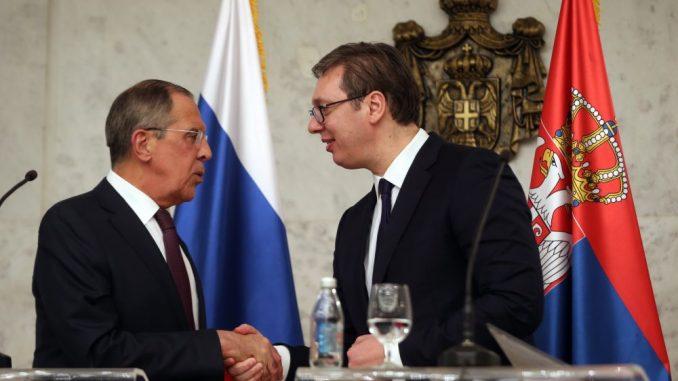 Vučić razgovarao sa Lavrovim: Rusija pouzdani saveznik Srbije 1
