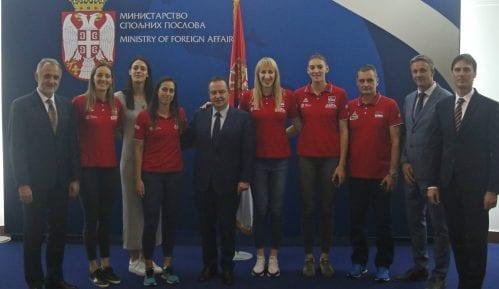 Odbojkašicama Srbije dodeljeni diplomatski pasoši 1