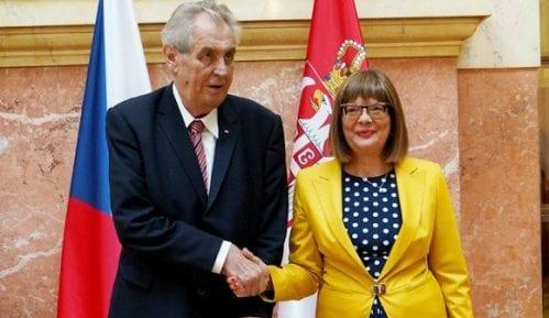 Gojković i Zeman o intenzivnoj saradnji Srbije i Češke 1