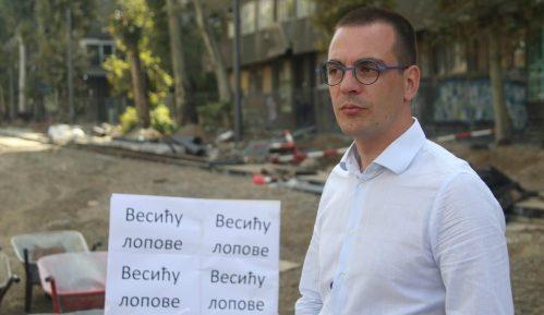 """Bastać: Nismo pokušali da uđemo u zgradu """"Progresa"""", to je Vesićev spin 15"""