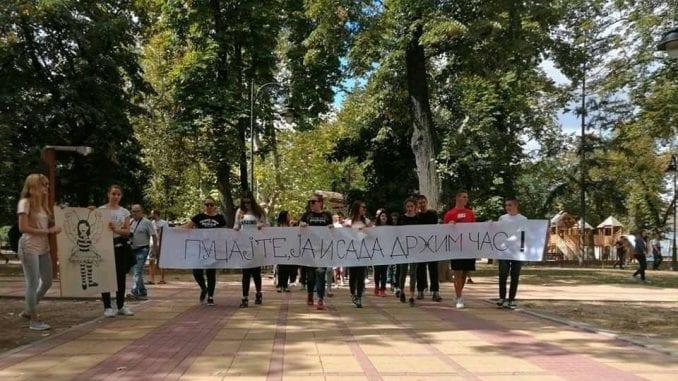 Protest u Beloj Crkvi