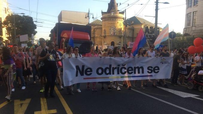 Parada ponosa u Beogradu završena žurkom u parku Manjež (FOTO) 1
