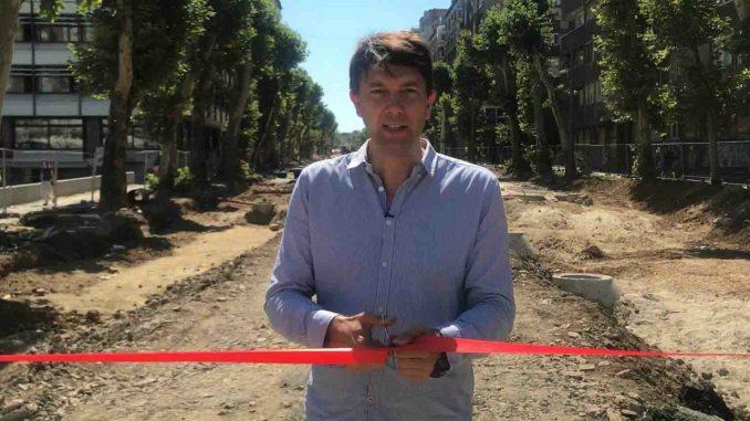 Jovanović: Vlast urušava infrastrukturu Beograda, primer je Ulica 27. marta 1