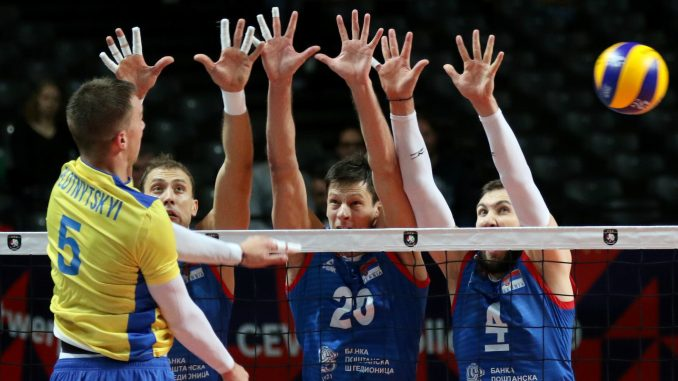 Odbojkaši Srbije posle pet setova u polufinalu Evropskog prvenstva 2