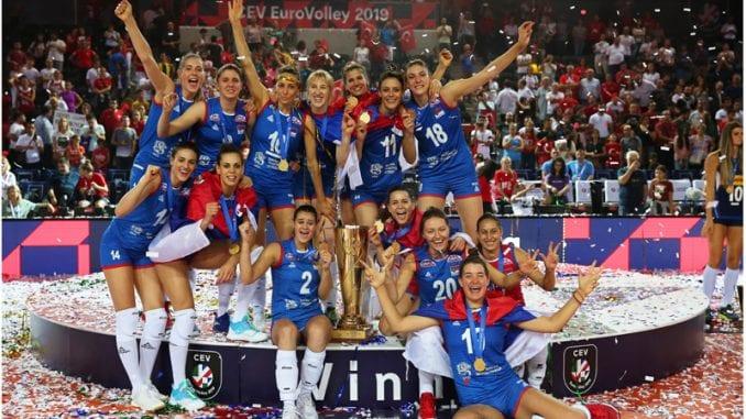 Odbojkašice Srbije ponovo šampionke Evrope (FOTO) 10
