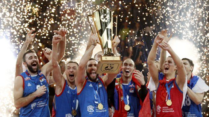 Srbija novi evropski šampion u odbojci 1