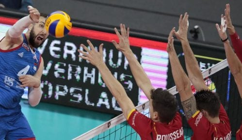 Odbojkaši Srbije pobedili Belgiju na Evropskom prvenstvu 2
