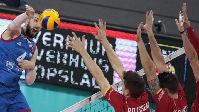 Odbojkaši Srbije pobedili Belgiju na Evropskom prvenstvu 4