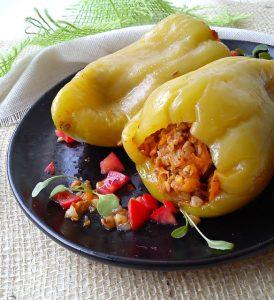 Recept nedelje: Paprike sa heljdom 2