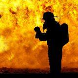 Požar u Segetu Gornjem kod Trogira u Hrvatskoj još nije pod kontrolom 12