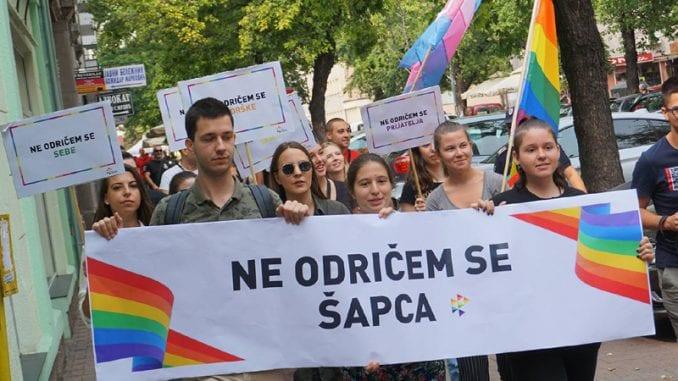 U Šapcu održana Prajd šetnja kao najava za predstojeću Paradu ponosa u Beogradu 4