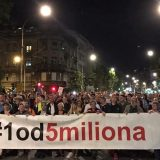 Na protestu 1 od 5 miliona zatražena ostavka gradonačelnika Beograda i njegovog zamenika (VIDEO, FOTO) 11