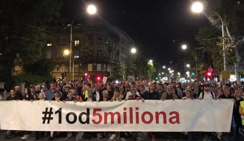 Jedan od pet miliona ove subote bez prijave rute i protesta MUP-u 2