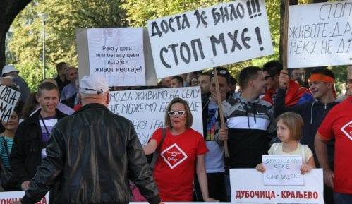 Protest protiv MHE u Beogradu: Ne damo reke, ne damo šume 13