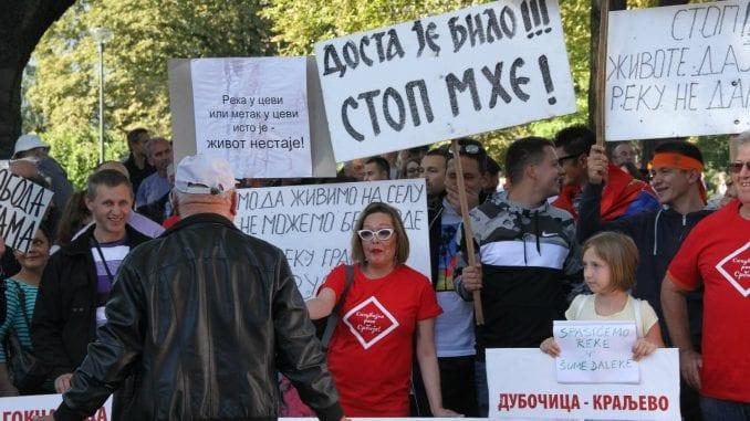 Protest protiv MHE u Beogradu: Ne damo reke, ne damo šume 3
