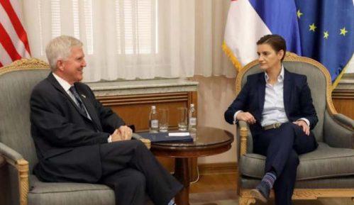 Brnabić primila Skota u oproštajnu posetu: Dobra saradnja i bolji odnosi 2