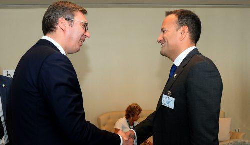 Predsednik Srbije i premijer Irske sastali se u Njujorku 8