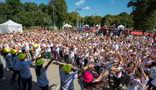 """Sportski dan"" na Adi Ciganliji okupio brojne mališane 13"