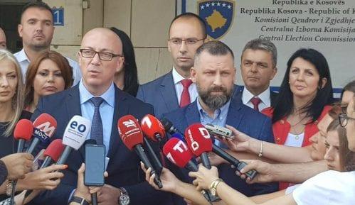 U koalicionom sporazumu DSK i Srpske liste nema obaveze formiranja Zajednice srpskih opština 5