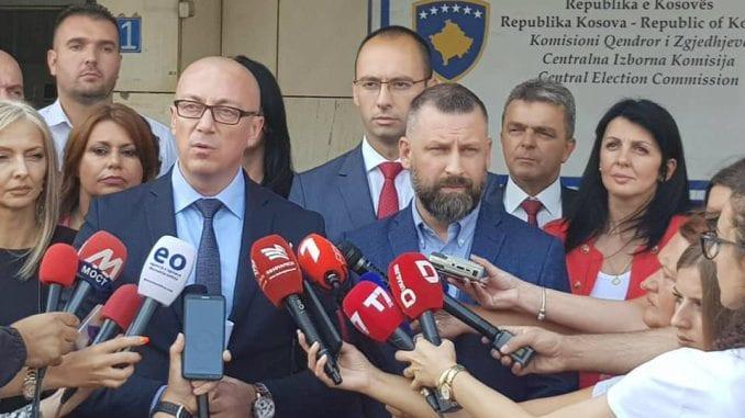 Rakić se sastao s Kurtijem: Srpska lista neće biti prepreka formiranju Vlade 2