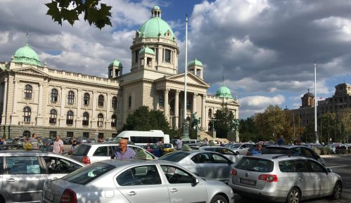 Taksisti počeli svakodnevne proteste (FOTO, VIDEO) 15