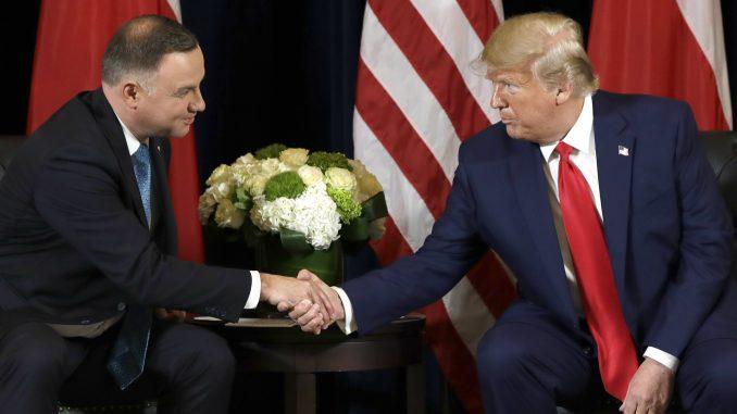 Tramp najavio raspoređivanje više američkih vojnika u Poljskoj 1