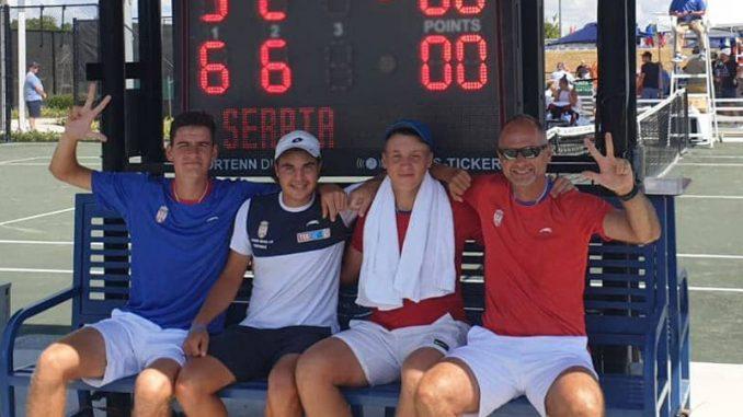 Srbija treća na svetu u juniorskom Dejvis kupu do 16 godina 1
