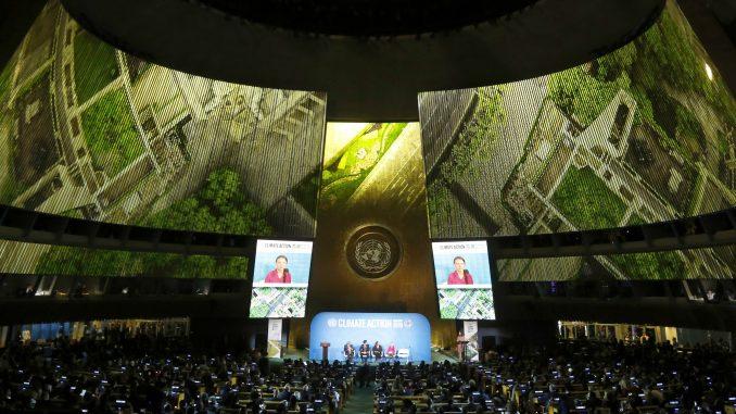 Greta Tunberg izgrdila svetske vođe na početku samita o klimi u UN  (FOTO) 1