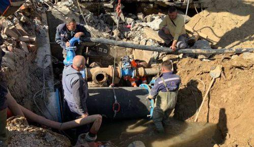 Vesić: Umanjen oktobarski račun za vodu građanima koji nisu imali vodu zbog havarije 10