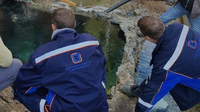 Čelnici grada obišli radove na otklanjanju vodovodnog kvara 1
