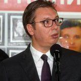 Vučić: Vesić uradio sve kako je trebalo po pitanju Trga Republike 9