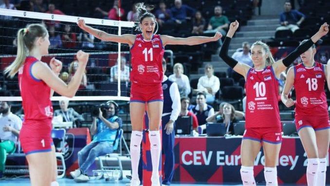 Odbojkašice Srbije u finalu Evropskog prvenstva protiv Turske 3