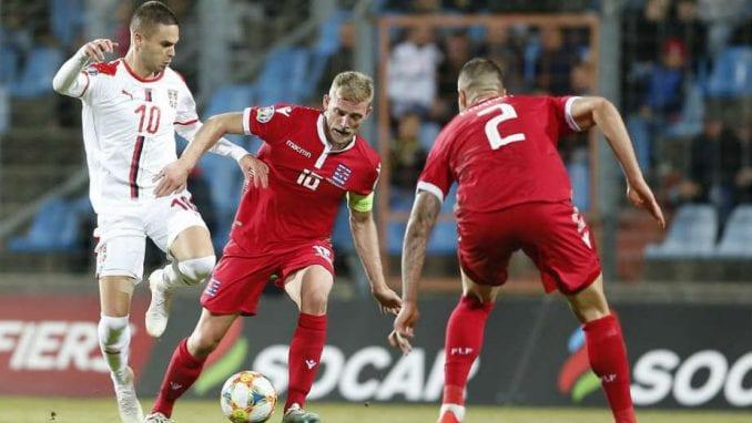 Pobeda Srbije u Luksemburgu 1