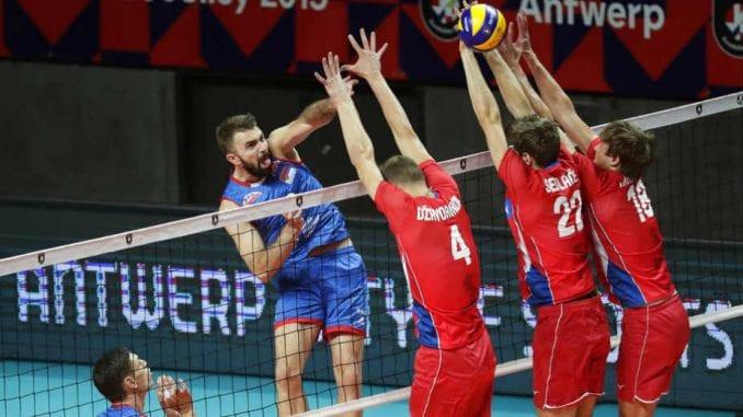Odbojkaši Srbije u četvrtfinalu Evropskog prvenstva 2