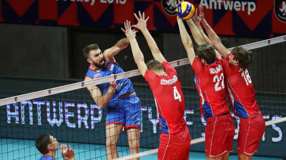 Odbojkaši Srbije u četvrtfinalu Evropskog prvenstva 1