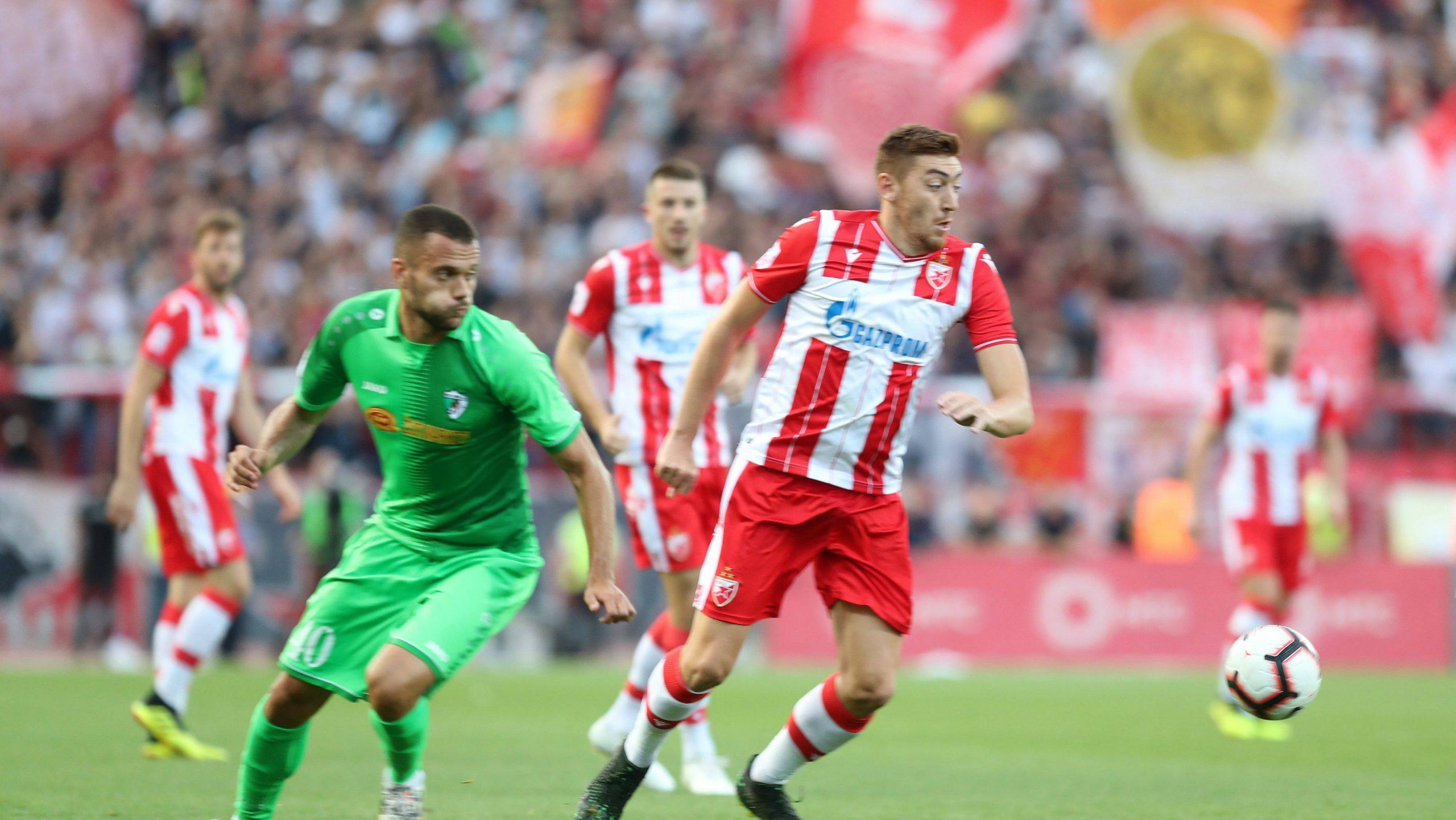 Zvezda iz dva penala u finišu utakmice do pobede protiv Inđije 1