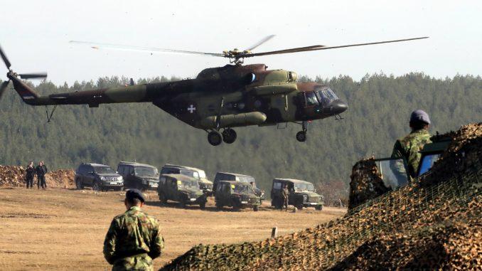 Helikopteri VS sutra i prekosutra nad Beogradom u okviru redovne obuke 5