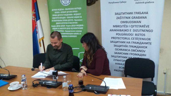 List Danas potpisao memorandum o zaštiti dece 1