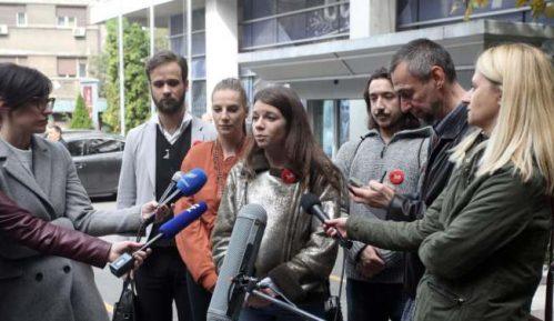 """Studenti iz organizacije """"1 od 5 miliona"""" saslušani po krivičnoj prijavi Bujoševića 11"""