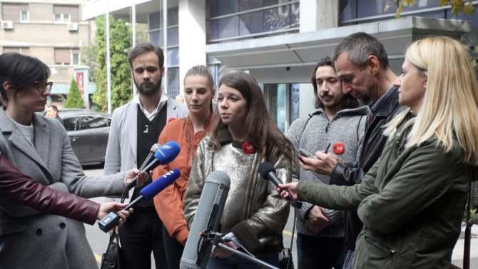 """Studenti iz organizacije """"1 od 5 miliona"""" saslušani po krivičnoj prijavi Bujoševića 1"""