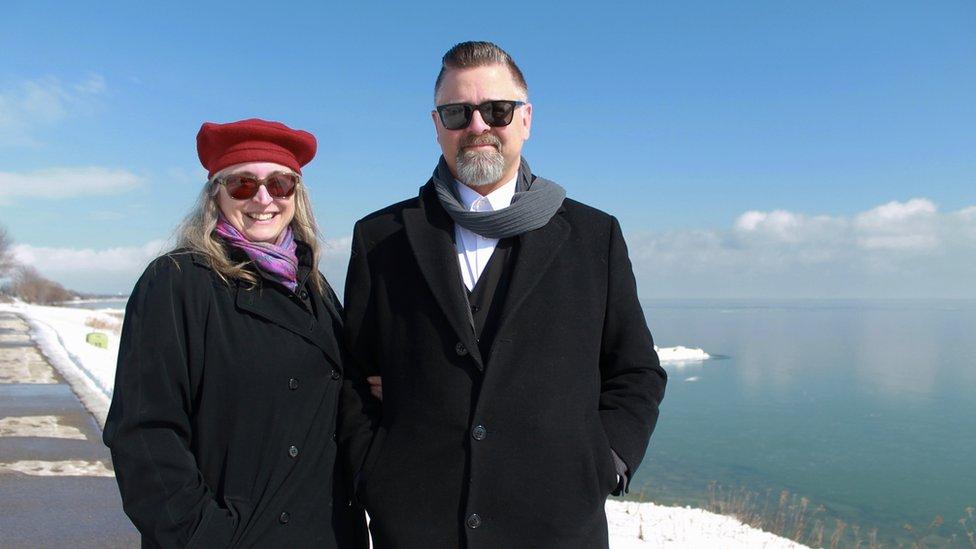 Tina i Džejson Prig na ostrvu Mičigen