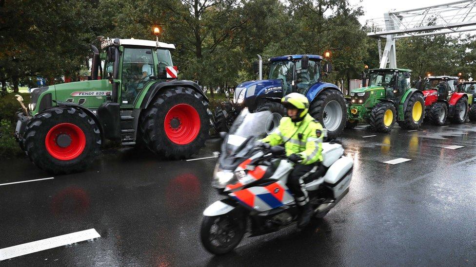 Protest traktorista