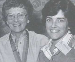 Dr Peters and her daughter Dr Ingram