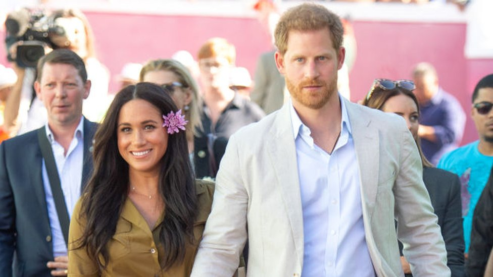 Harry and Meghan on tour in South Africa