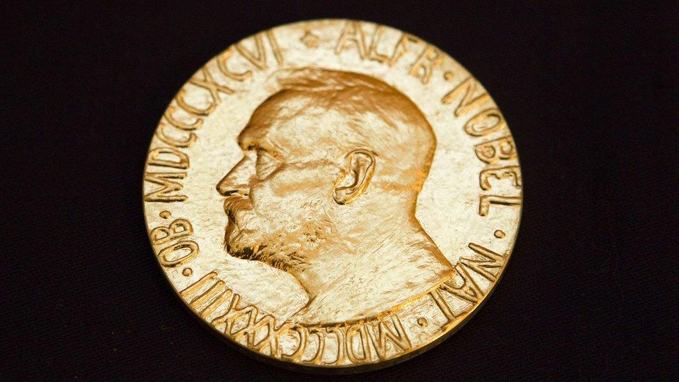 medalja za nobelovu nagradu