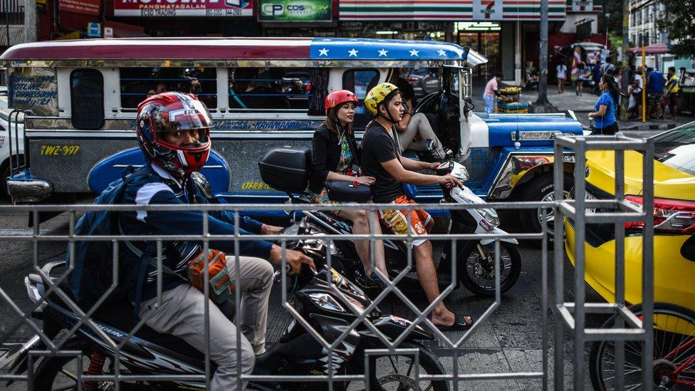 saobraćajna gužva u manili